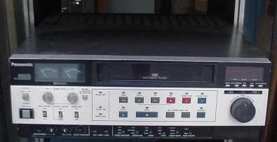 VHS PROFFESSIONAL EDITING VCR PANASONIC VIDEO RECORDER
